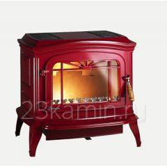 Печь-камин BRADFORD red enamel