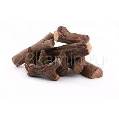 Набор дров с шишками для биокамина