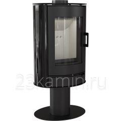 Печь камин Kratki KOZA/AB/S/N/KAFEL/CZARNY (кафель черный)