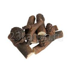 Дрова керамические 6 дровишек и 3 шишки