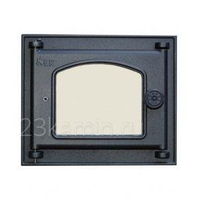 Дверца топочная со стеклом LK 351